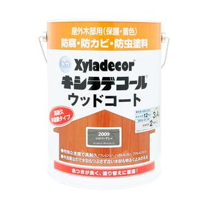 大阪ガスケミカル 水性XDウッドコートS シルバG3.4L 【4571152256141:12168】
