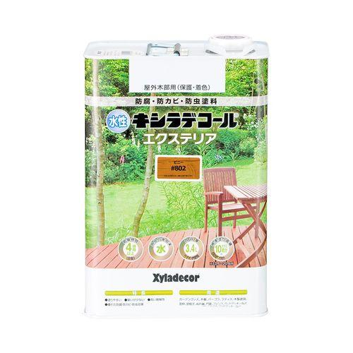 水性でもキシラデコールと同等の優れた耐久性 激安セール お気に入 大阪ガスケミカル 水性XDエクステリアS 3.4L ピニー