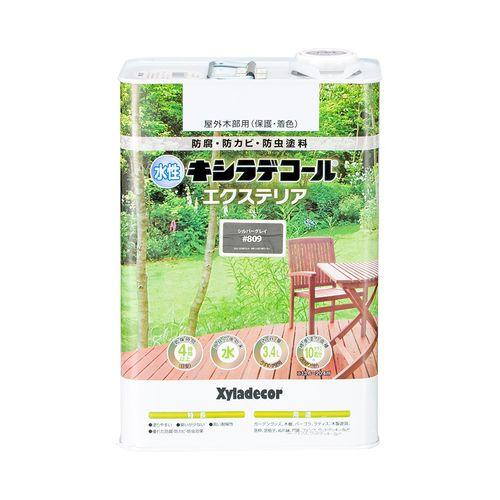 水性でもキシラデコールと同等の優れた耐久性 大阪ガスケミカル 大好評です 水性XDエクステリアS シルバG3.4L セール 登場から人気沸騰 4571152254253:12168