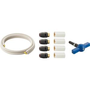 三栄水栓 ヒートポンプ専用配管セット T102T-2YS-13AX3-10【4973987752209:13750】