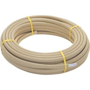 三栄水栓 さや管付ペア樹脂管|バスルーム用| T421R-863E-10A【4973987768279:13750】