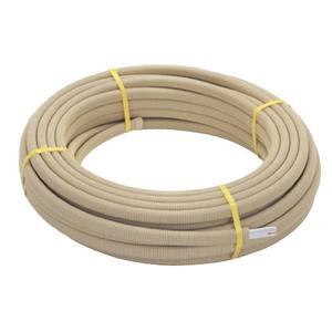 三栄水栓 さや管付ペア樹脂管 バスルーム用  T421R-863-10A【4973987768606:13750】