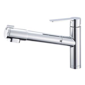 三栄水栓 シングル浄水器付ワンホールスプレー混合栓 K87580JV-13【4973987600203:13750】