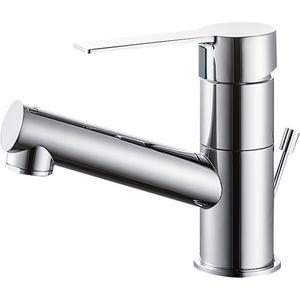 三栄水栓 シングルワンホール洗面混合栓 K475PJVZ-1-13【4973987600432:13750】