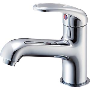 三栄水栓 シングルワンホール洗面混合栓(寒冷地用) K4710NJK-13【4973987600623:13750】