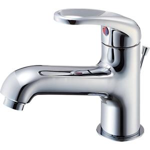 三栄水栓 シングルワンホール洗面混合栓(寒冷地用) K4710PJK-13【4973987600647:13750】