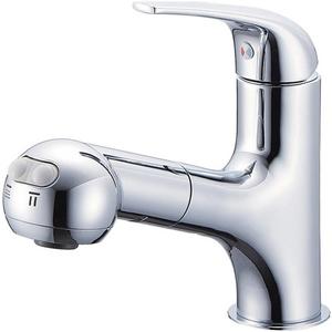 三栄水栓 シングルスプレー混合栓(寒冷地用) K3703JK-13【4973987605581:13750】