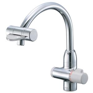 三栄水栓 サーモワンホール混合栓 K88010V-13【4973987606472:13750】