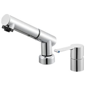 三栄水栓 シングルスプレー混合栓(寒冷地用) K37510JKZ-13【4973987606588:13750】