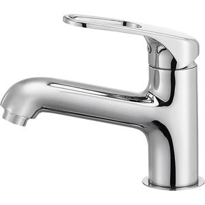 三栄水栓 シングルワンホール洗面混合栓 K4710NJV-U-13【4973987609756:13750】