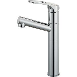 三栄水栓 シングルワンホール洗面混合栓(寒冷地用) K475NJKZ-2TU-13【4973987609848:13750】