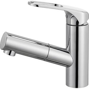 三栄水栓 シングルワンホール洗面混合栓(寒冷地用) K47531JK-U-13【4973987609862:13750】