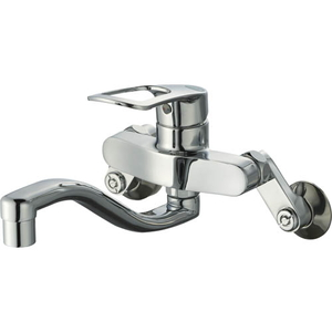 三栄水栓 シングル混合栓(寒冷地用) K17CEAK-13【4973987611803:13750】