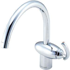 三栄水栓 シングルワンホール混合栓(寒冷地用) K8741JK-13【4973987615245:13750】