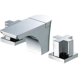 三栄水栓 ツーバルブ洗面混合栓(寒冷地用) K5580PK-13【4973987626210:13750】