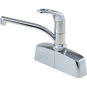 三栄水栓 シングル取替用台付混合栓 CK676-2-13【4973987630552:13750】