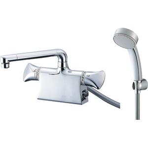 三栄水栓 サーモデッキシャワー混合栓(寒冷地用) SK78010DS9K-13【4973987660672:13750】