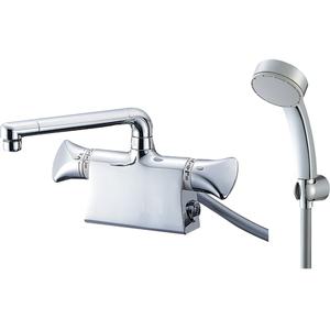 三栄水栓 サーモデッキシャワー混合栓(寒冷地用) SK78011DS9K-13【4973987660696:13750】