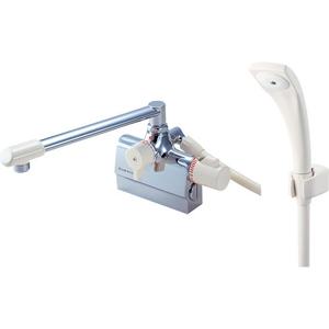 三栄水栓 サーモデッキシャワー混合栓(寒冷地用) SK7800DK-13【4973987669323:13750】