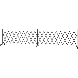タカショー HEX-AG500BK ホームEX アルミ アコーディオンゲート ブラック 【4975149572151:14060】