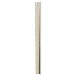 タカショー 『4本セット価格』 MNO-P01W ウッディープラ支柱 900 ホワイト 【2135902300168:14060】
