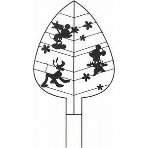 タカショー 『4個セット価格』 TD-TR02 ガーデントレリス リーフ ミッキーマウス&フレンズ 【2135902303848:14060】