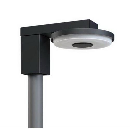 パナソニック LEDモールライト 丸形キャンチレバータイプ 水銀灯100形 オフブラック 昼白色 NYG2021N【4549980193082:14430】