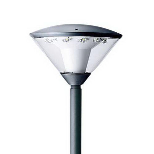 パナソニック LEDモールライト 灯具 全周配光 水銀灯250形 ミディアムグレーメタリック 電球色 NNY22141KLE7【4549980403822:14430】