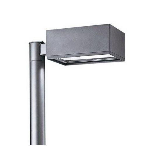 パナソニック LEDモールライト 灯具 ワイド配光 水銀灯250形 ミディアムグレーメタリック 電球色 NNY22146KLE7【4549980403860:14430】