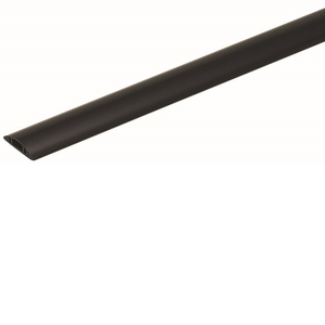 未来工業 ワゴンモール OP16型 全長2m ブラック 1本価格 OP16-2K OP16-2K【4589582153695:14430】