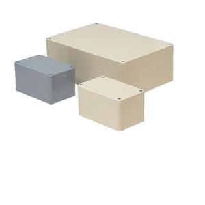 未来工業 プールボックス 長方形 ノックなし 400×250×200 ベージュ PVP-402520J PVP-402520J【4589582165230:14430】