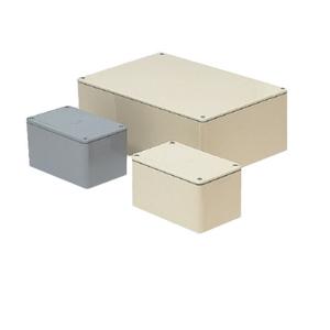 未来工業 防水プールボックス 平蓋 長方形 ノックなし 400×300×100 グレー PVP-403010A PVP-403010A【4589582165308:14430】
