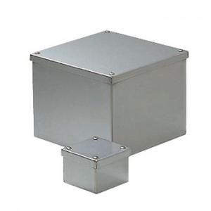 未来工業 ステンレスプールボックス 防水カブセ蓋 アース端子付き 407×407×400 SUP-4040BE SUP-4040BE【4589582172702:14430】