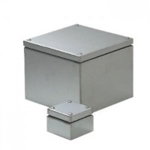 未来工業 ステンレスプールボックス 防水水きり蓋 アース端子付き 507×507×500 SUP-5050PE SUP-5050PE【4589582172726:14430】