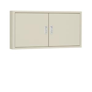 日東工業 盤用キャビネット露出形フカサ140mm 木製基板付 クリーム塗装 B14-88-2C【4589905704979:14430】