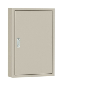 日東工業 盤用キャビネット露出形フカサ250mm 木製基板付 クリーム塗装 B25-610C【4589905707345:14430】