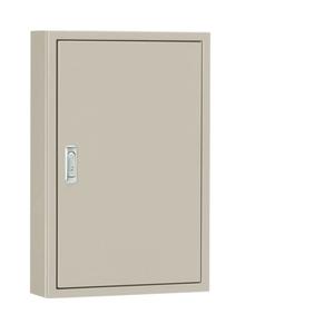 日東工業 盤用キャビネット露出形フカサ400mm 木製基板付 クリーム塗装 B40-55C【4589905708311:14430】