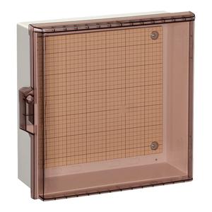 日東工業 プラボックス透明扉付 汎用タイプ P20-55CA【4589905698711:14430】