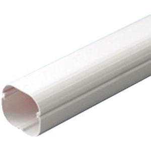 因幡電工 スリムダクトSD 配管化粧カバー 77タイプ ホワイト 5個  SD77W05P【4518301010285:14430】