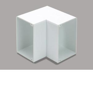 マサル工業 内マガリ 8号200型 ホワイト MDU8202【4528944107440:14430】