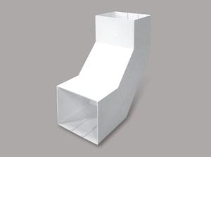 マサル工業 内大マガリ 8号200型 ホワイト MDLU8202【4528944148221:14430】