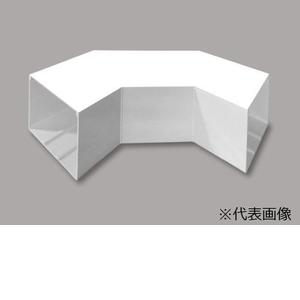 マサル工業 平面大マガリ 6号150型 クリーム MDLM6155【4528944616928:14430】