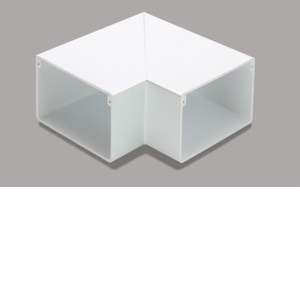 マサル工業 平面マガリ 6号 ホワイト MDM162【4528944105347:14430】