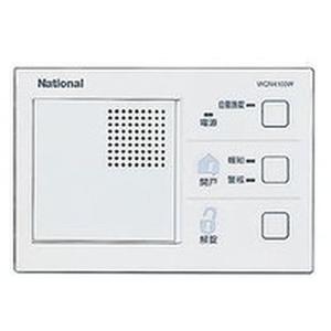 パナソニック 電気錠操作器 1回路・埋込型 プレート別 WQN4103W WQN4103W【4547441135725:14430】
