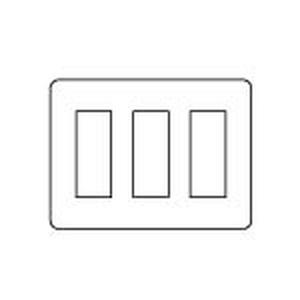 パナソニック 【受注生産品】グレーシアシリーズ ラウンドコンセント用プレート9個用 ダークブラウン WTV6209A2 【4902710959905:14430】