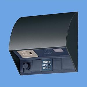 パナソニック スマート電子EEスイッチ付フル接地防水コンセント ブラック EE4553B EE4553B【4902704677686:14430】
