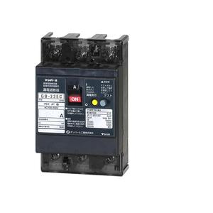 テンパール工業 Eシリーズ 経済タイプ 漏電遮断器 OC付 33EC1530S【4950870113484:14430】