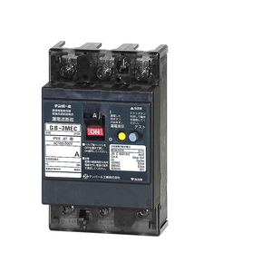 テンパール工業 Eシリーズ 経済タイプ 漏電遮断器OC付5.5A(1kW)-30mA 補助スイッチ付 3MEC05530A【4950870115792:14430】