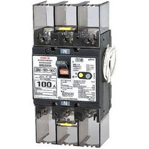 テンパール工業 単3中性線欠相保護付漏電遮断器 OC付 100A 30mA リード線付 U10301KC130V【4950870122523:14430】