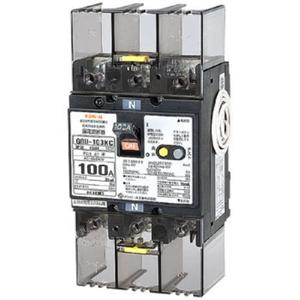 テンパール工業 太陽光発電システム用単3中性線欠相保護付漏電遮断器 OC付 100A リード線付 U103KC1030V【4950870122974:14430】